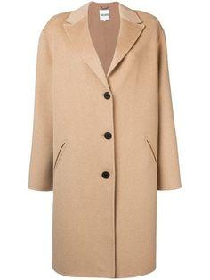 Shop online neutral Kenzo single breasted coat as well as new season, new arrivals daily. Beige Coat, Cashmere Wool, Kenzo, Single Breasted, Paris Fashion, Street Wear, Women Wear, Clothes For Women, Long Sleeve