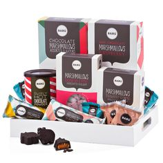Barú Gourmet Marshmallows Gift Tray
