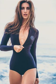 Loving surf suits right now.  #shop surf suits on Bikini.com