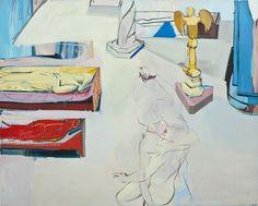 "Instruments of Culture : Sarah Awad, ""Meditation on the Fall,"" 2011, oil on canvas (source: sarahawad.com)"