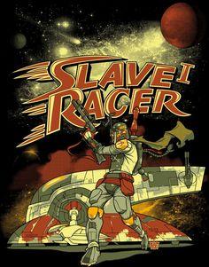 Qwertee: Slave I Racer (incl. ubersuper couponcode!)