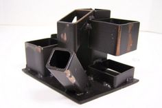 Pencil/Tool Holder or Desk Organizer Steel by UpcycledInventions, $42.00