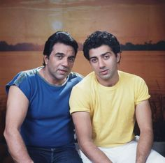 Dharmendra and Sunny Deol - Getty Images