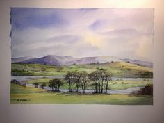 A quick #watercolour painting by our Twitter follower @charlesevanart