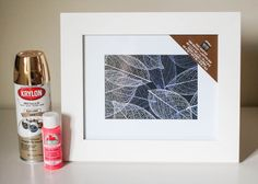 How to Paint Picture Frames | The Crafted Life