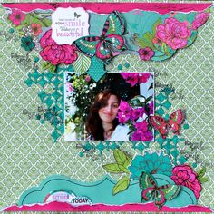 """You Make Me Smile - Kaisercraft using beautiful """"Fly Free"""" Speciality Papers and range.  http://www.kaisercraft.com.au/blog/fly-free-speciality-papers/  http://cathycafun.blogspot.com.au/"""