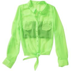 Juniors Chiffon Tie-Front Shirt with Seamless Bandeau. I don't really shop there but I think I'm about to. It's so cute and perfect for summer. Qvc Shopping, Online Shopping, Chiffon Shirt, Colored Denim, Swimsuits, Tie, My Style, Sweaters, How To Wear