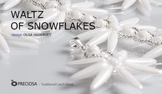 Waltz of snowflakes  #Seed #Bead #Tutorials