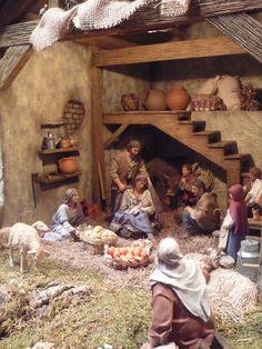 1 million+ Stunning Free Images to Use Anywhere Nativity Stable, Diy Nativity, Christmas Nativity Scene, A Christmas Story, Christmas Fun, Beautiful Christmas, Christmas Crib Ideas, Rustic Christmas Crafts, Xmas Crafts
