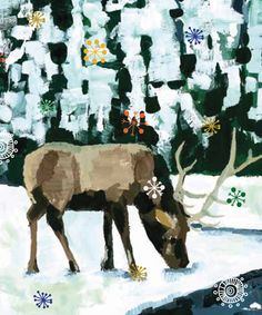 Caribou boxed cards are a great way to spread your #eco Holiday cheer