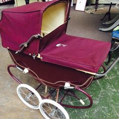 Pram Stroller, Baby Strollers, Vintage Pram, Prams And Pushchairs, Dolls Prams, Retro, Children, Boys, Pram Sets