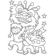 printable chinese new year coloring pages for kids | cool2bkids ... - Chinese Dragon Mask Coloring Pages