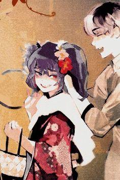 Haise and Saiko Kaneki, Tokyo Ghoul, Saiko Yonebayashi, Watch Manga, Anime Version, Love Illustration, Kirito, Dark Fantasy, Webtoon
