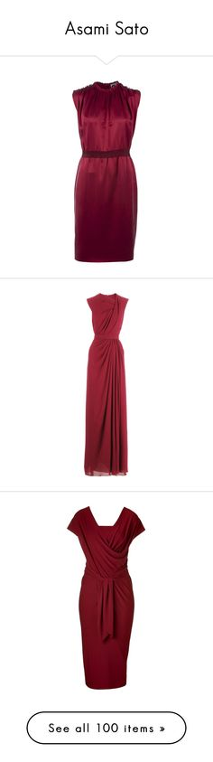 """Asami Sato"" by mlleemilee ❤ liked on Polyvore featuring dresses, vestidos, short dress, vestiti, women, below the knee dresses, zipper dress, purple dress, sleeveless dress and satin dress"