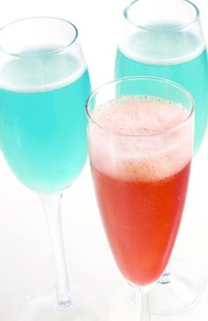 Give Newlyweds a Toast with Blushing Bride Cocktails: Blushing Bride Cocktail (with Something Blue)