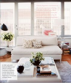 decorology: Thanks @Lonny Magazine for welcoming us into Michelle's gorgeous upper west side apartment!