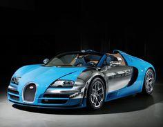 Stunning New Bugatti Legend 'Meo Costantini' Veyron #autoawesome