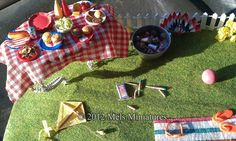 Mels Miniatures - 4th of July - many more pictures in this blog post