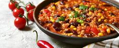 Recept voor gezonde chili con carne