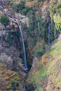 Double waterfalls at Syrrako, 50 meters, mt Tzoumerka, south Pindus,Greece Republic Of Macedonia, Nature View, Beautiful Waterfalls, Water Features, Rivers, Mother Nature, Greece, Beautiful Places, Scenery
