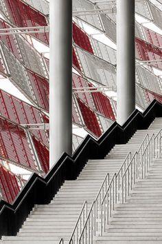 UEFA european football championship stadiums by gmp architekten. @designerwallace