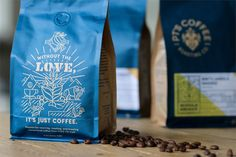 PT's Coffee Roasting Co. Rebrand on Packaging of the World - Creative Package Design Gallery