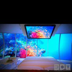 Under water hotel in Dubai
