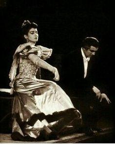 La DIVINA Maria Callas with Franco Corelli - Fedora - La Scala 1956