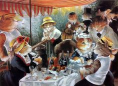 """The Boating Party Lunch (Auguste Renoir)"" par Susan Herbert"