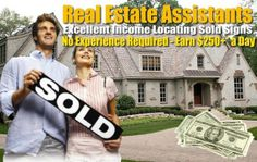 Get paid to locate sold signs