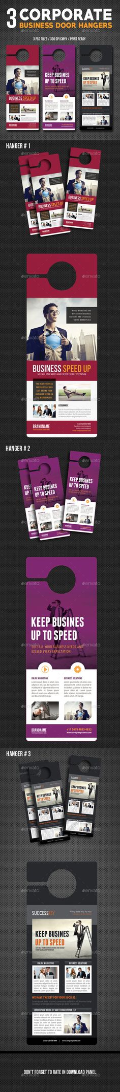 Real Estate Door Hangers Template  Door Hanger Template Template