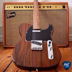 Happy TeleTuesday! Here's a rare Rosewood Telecaster from @jeppelindahl.dk #studio33guitar #telecaster Learn to play guitar online at www.studio33guitarlessons.com