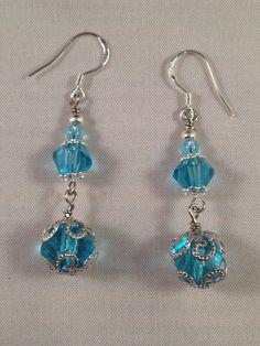 Fancy Drop Earring by JewelryDesignsByCher on Etsy