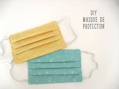 Coudre un masque de protection, tuto rapide masque - - Diy Mask, Diy Face Mask, Coin Couture, Diy Beauty, Diy Clothes, Diy And Crafts, Sewing Projects, Sewing Patterns, Centre Hospitalier