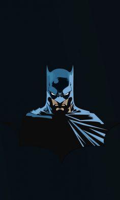 Batman, superhero, minimal, 480x800 wallpaper
