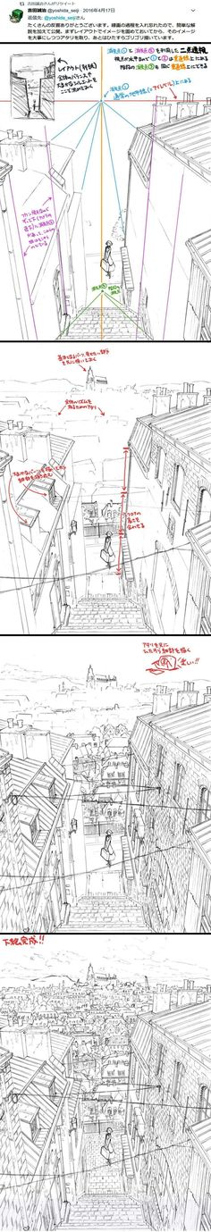 Perspective tutorial sketch