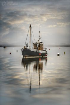 Fishing Boat at Brancaster Staithe By David Stoddart | by David Stoddart Photography