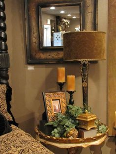 Infusion Interior Design  Lakewood, WA. Love the Tuscan feel. Bedroom decorating ideas.