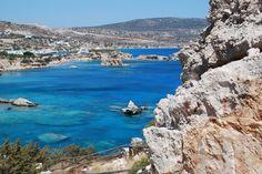 A landscape of Karpathos island