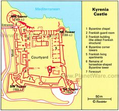 """linestorm: """" 5 Palace Maps sources: Edinburgh Kyrenia Versailles Alexander Palace, Parade Halls Blenheim """" whelp surely someone can use this Vernacular Architecture, Fortification, Fix You, Cyprus, Old Things, Castle, Floor Plans, Tower, Map"""