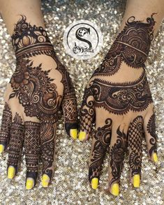 Pakistani Henna Designs, Kashee's Mehndi Designs, Modern Henna Designs, Mehndi Designs For Girls, Mehndi Design Photos, Wedding Mehndi Designs, Beautiful Henna Designs, Mehndi Designs For Fingers, Henna Tattoo Designs