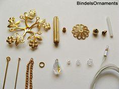 5-spoke Chandelier with Swarovski pendants