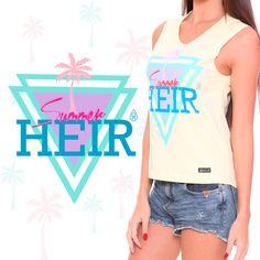 Estampa Summer criada e desenvolvida para a marca Heir.