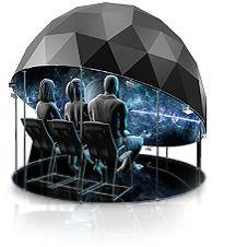 Design di una struttura immersiva a forma di duomo. Solutions | Fulldome.pro