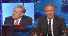 Jon Stewart mocks Fox Business host Stuart Varney on May 13, 2015. - Faux News = PATHETIC, LYING, ASSHOLES!