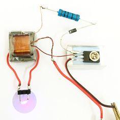 Inverter Boost Generador de alta presión Módulo de bobina de encendido encendedor electrónico Kit de producción DIY