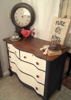 Full Circle Creations: Serpentine dresser reveal and an announcement....