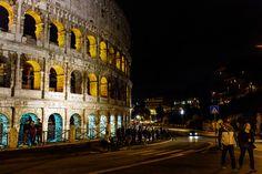 Citytrip Rome Colloseum by night
