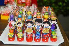 Tubete Festa Branca de Neve Cute