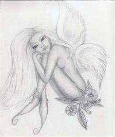 Fairy Tattoo Ii By Giglebox Traditional Art Drawings Miscellaneous Fairy Drawings, Pencil Art Drawings, Tattoo Drawings, Drawing Sketches, Tattoos Skull, Animal Tattoos, Body Art Tattoos, Star Tattoos, Tatoos
